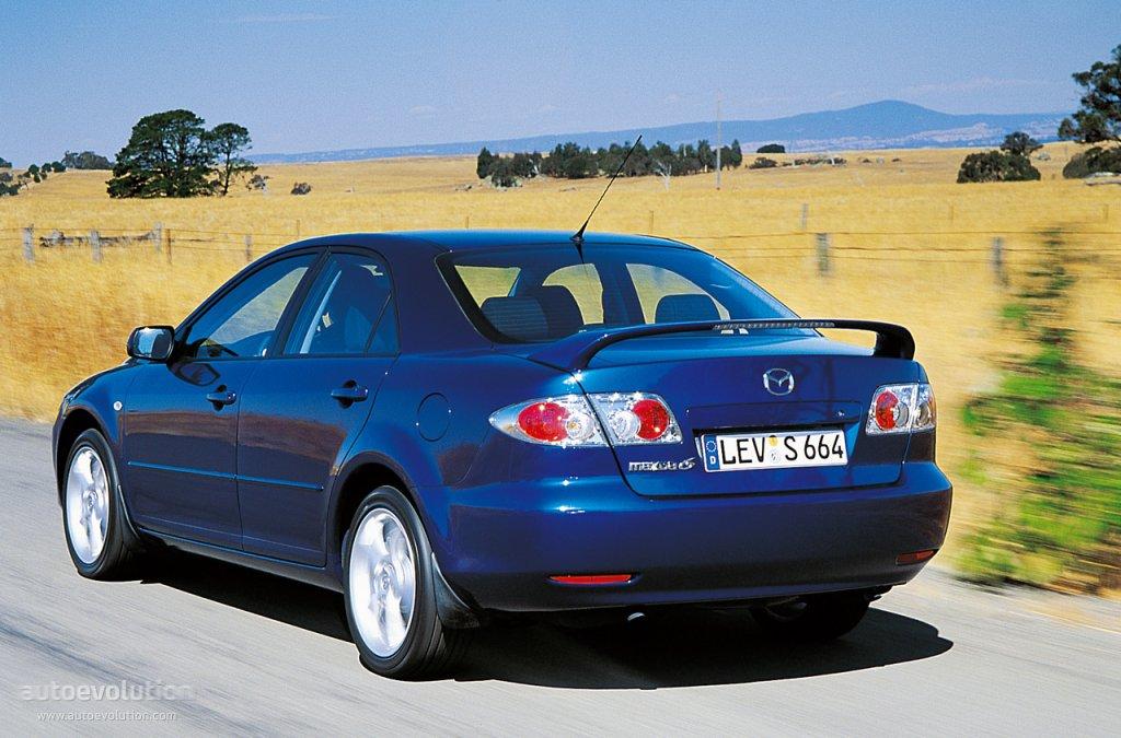 Amazing ... MAZDA 6/Atenza Sedan (2002   2005) ...