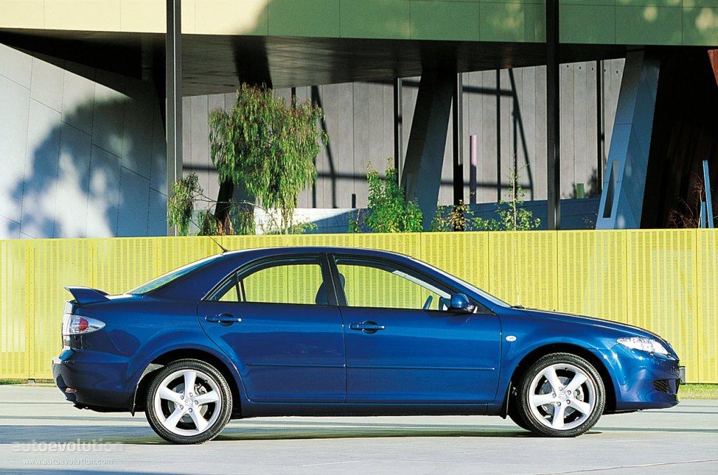 Awesome ... MAZDA 6/Atenza Sedan (2002   2005) ...
