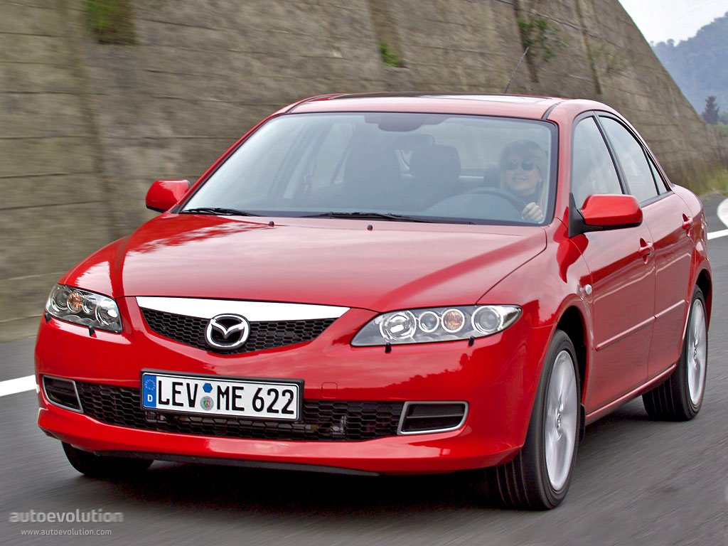 MAZDA 6/Atenza Sedan specs & photos - 2005, 2006, 2007 - autoevolution