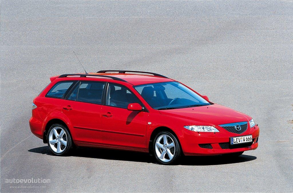 MAZDA 6/Atenza Wagon specs & photos - 2002, 2003, 2004 ...