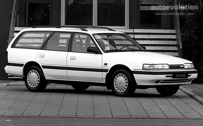 MAZDA 626 (Mk.3) Station Wagon - 1988, 1989, 1990, 1991 ...