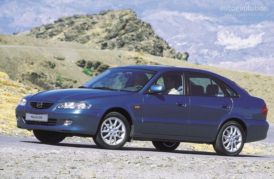 mazda 626 (mk.5) hatchback specs - 1997, 1998, 1999, 2000, 2001