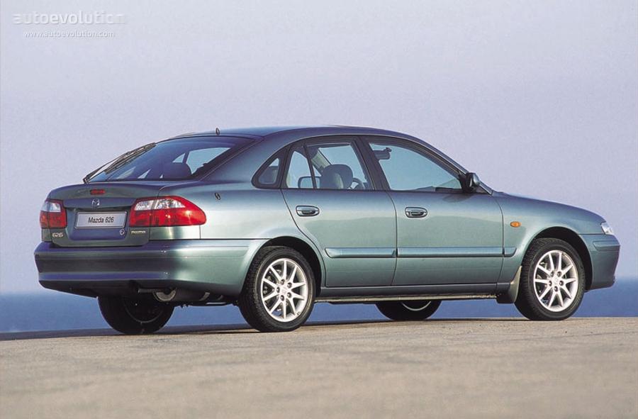 2002 mazda 626 mpg