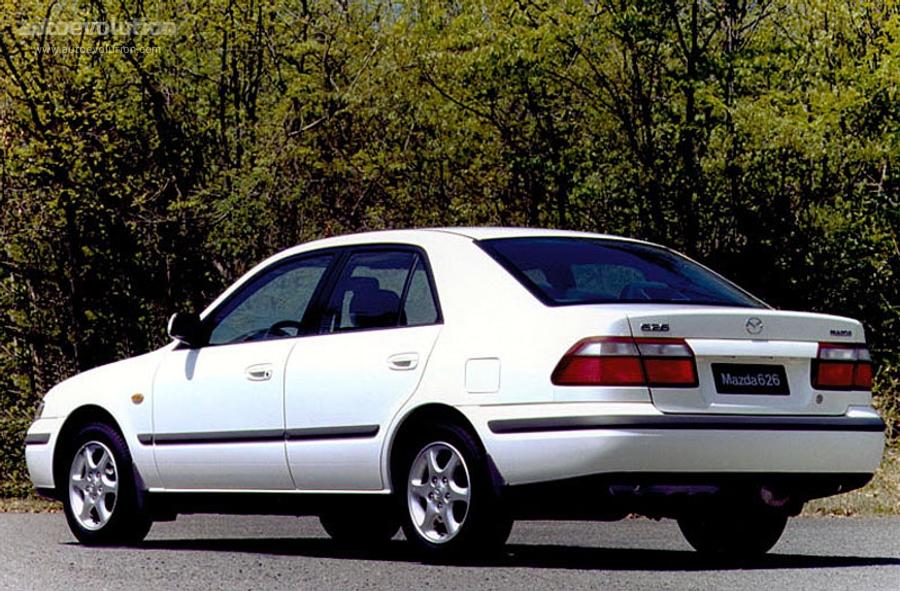 MAZDA 626 (Mk.5) Sedan - 1997, 1998, 1999, 2000, 2001, 2002 - autoevolution