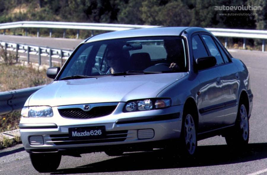 mazda 626 mk5 sedan specs 1997 1998 1999 2000
