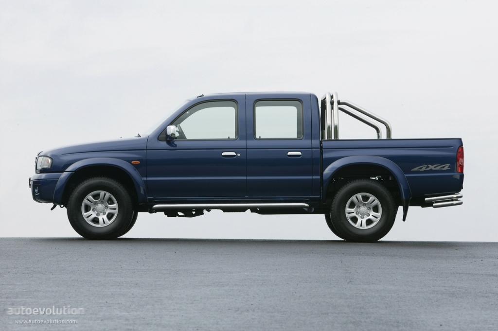 Ford Ranger Bed Dimensions >> MAZDA B Series / Bravo Dual Cab - 1999, 2000, 2001, 2002, 2003, 2004, 2005, 2006 - autoevolution