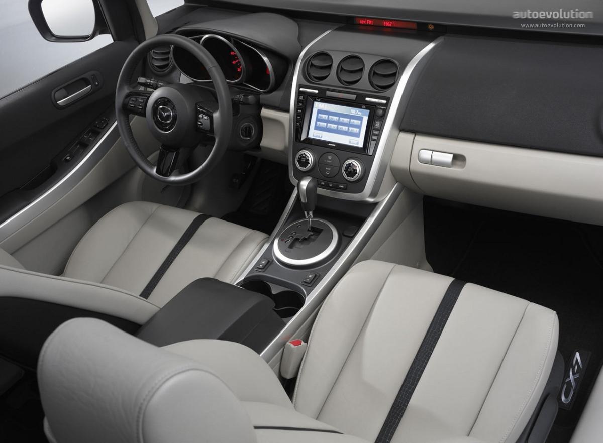 Interior Mazda cx 7
