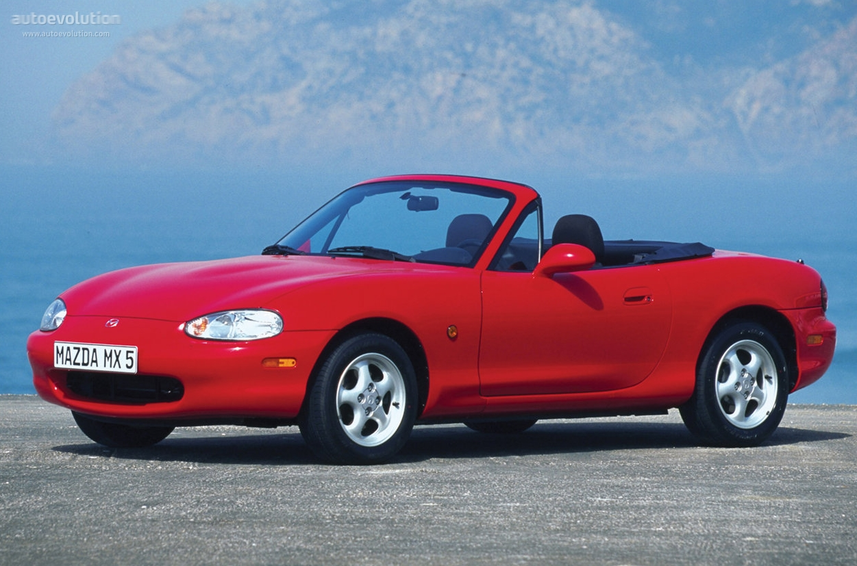 mazda mx 5 miata specs photos 1998 1999 2000 2001 2002 2003 2004 2005 autoevolution. Black Bedroom Furniture Sets. Home Design Ideas