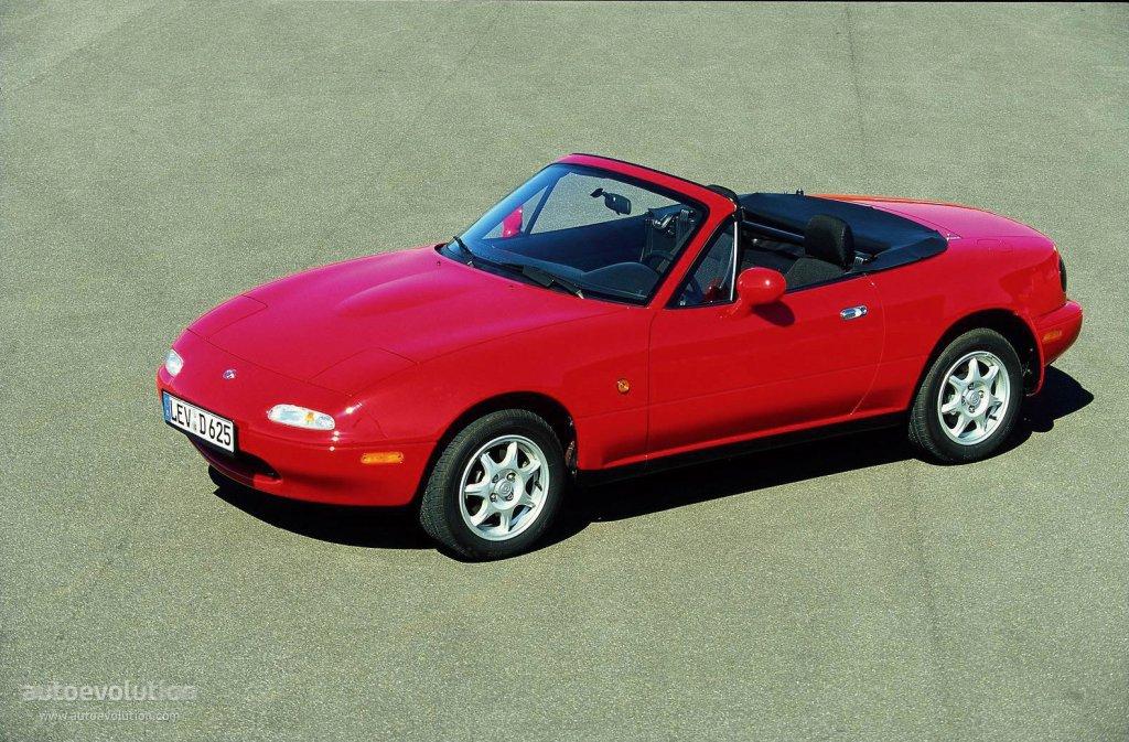 Mazda mx 5 miata specs 1989 1990 1991 1992 1993 1994 1995 1996 1997 1998