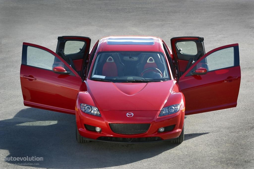 MAZDA RX8 specs  2003 2004 2005 2006 2007 2008  autoevolution