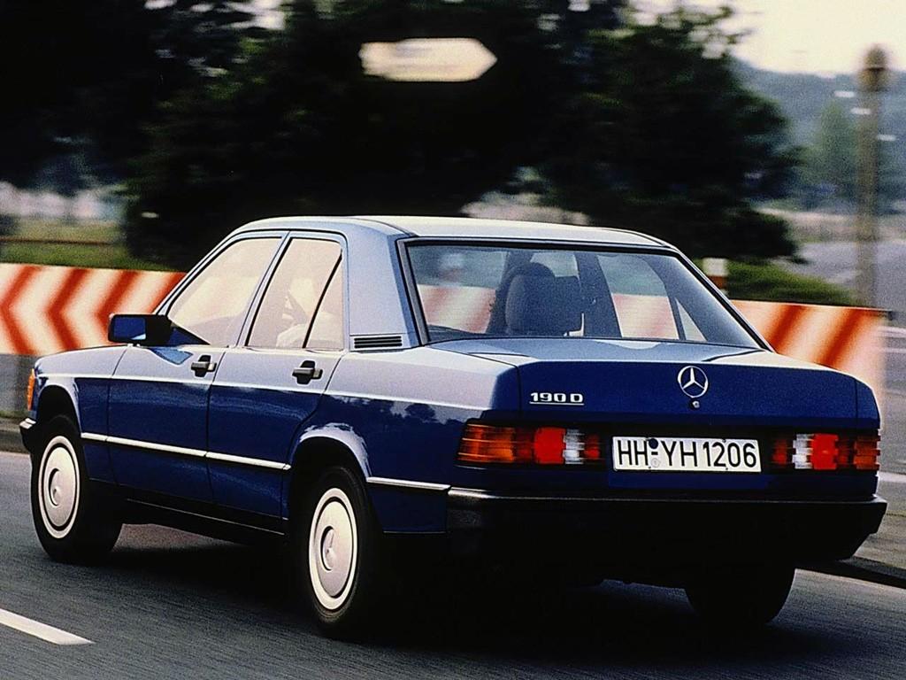 ... MERCEDES BENZ 190 (W201) (1982 - 1993) ...