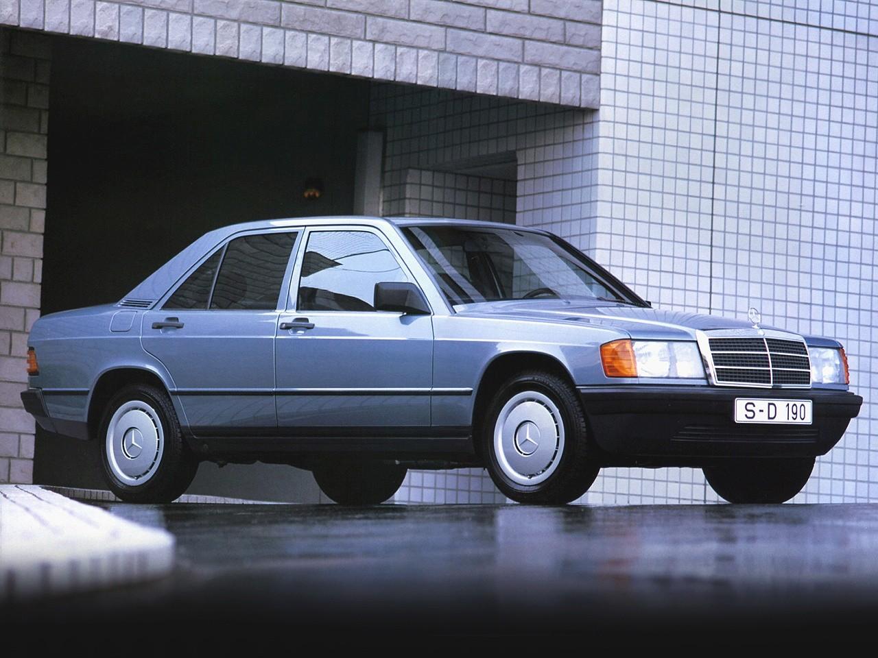 Mercedes benz 190 w201 1982 1983 1984 1985 1986 for Mercedes benz 1986