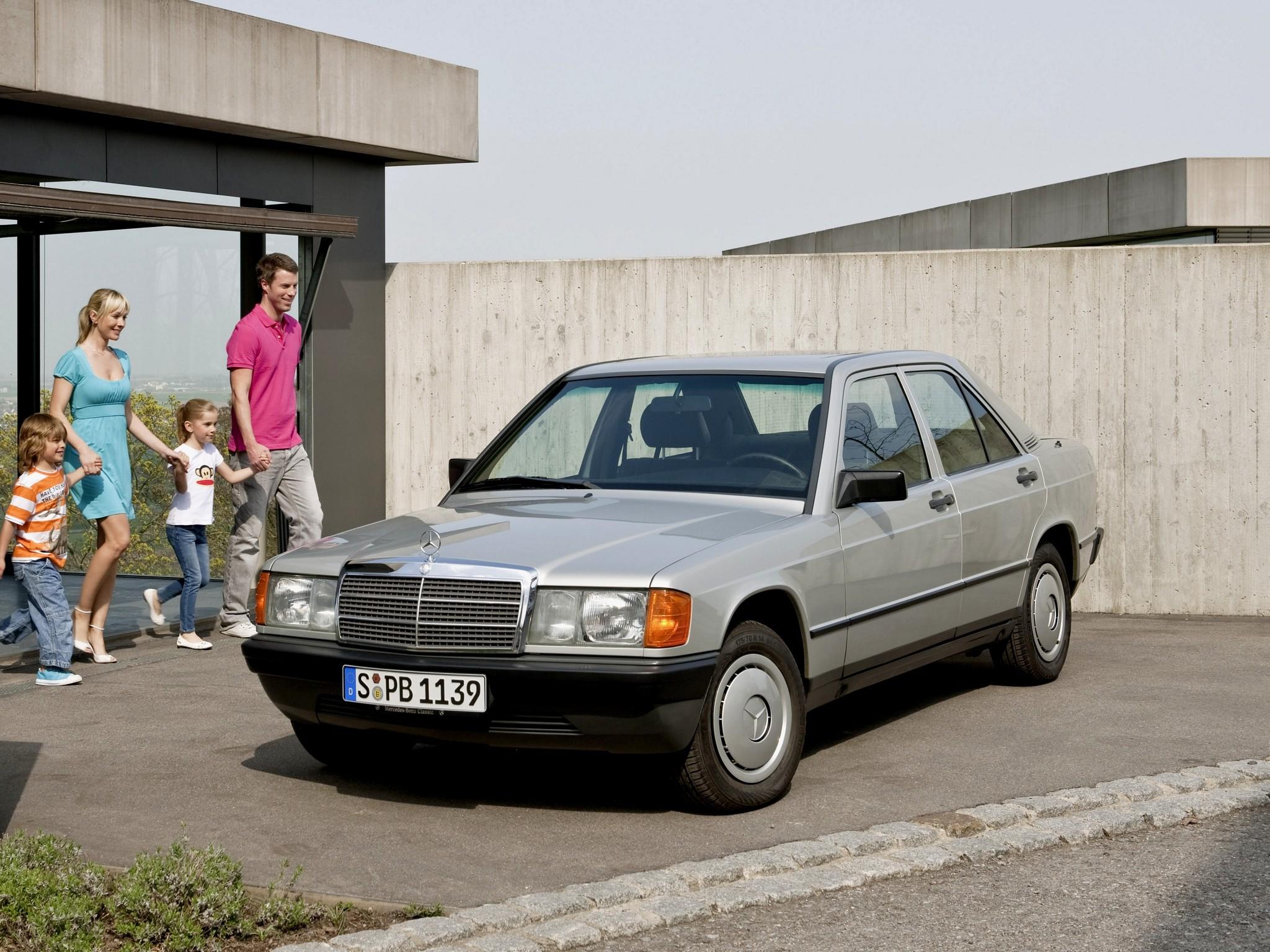 Mercedes Benz 190 W201 1982 1983 1984 1985 1986