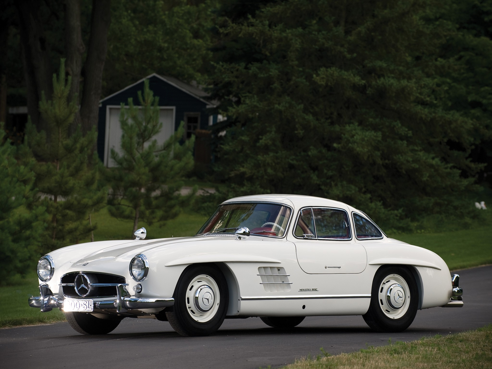 Mercedes benz 300 sl coupe w198 specs 1954 1955 1956 for 300 mercedes benz