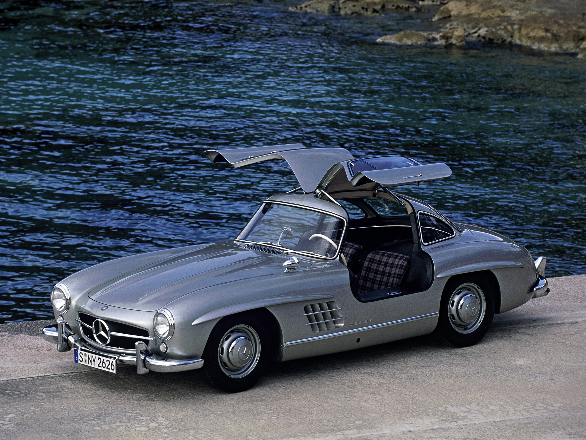 Mercedes benz 300 sl coupe w198 1954 1955 1956 1957 for Mercedes benz 300 sl