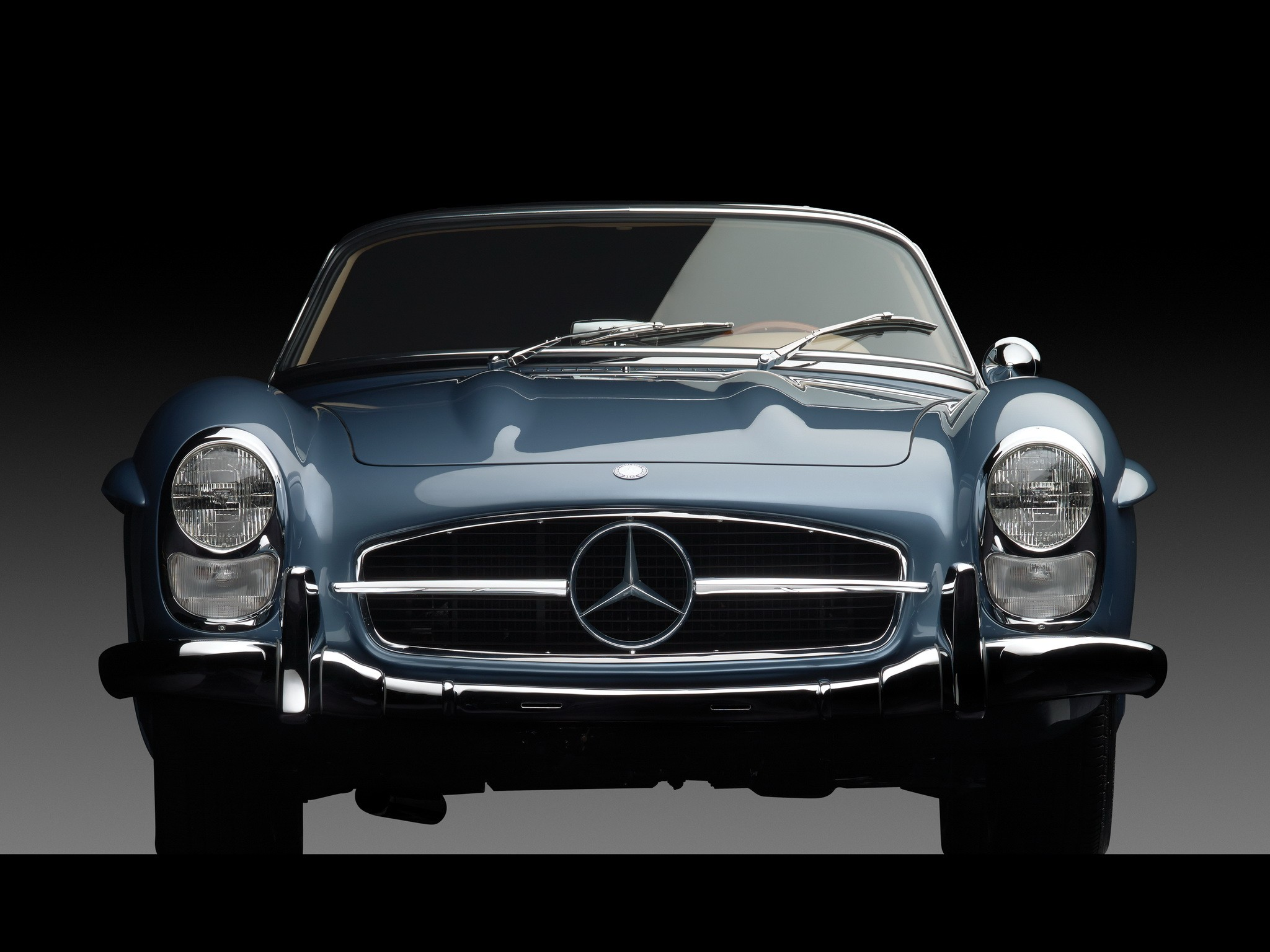 MERCEDES BENZ 300 SL Roadster (W198) specs & photos - 1957 ...