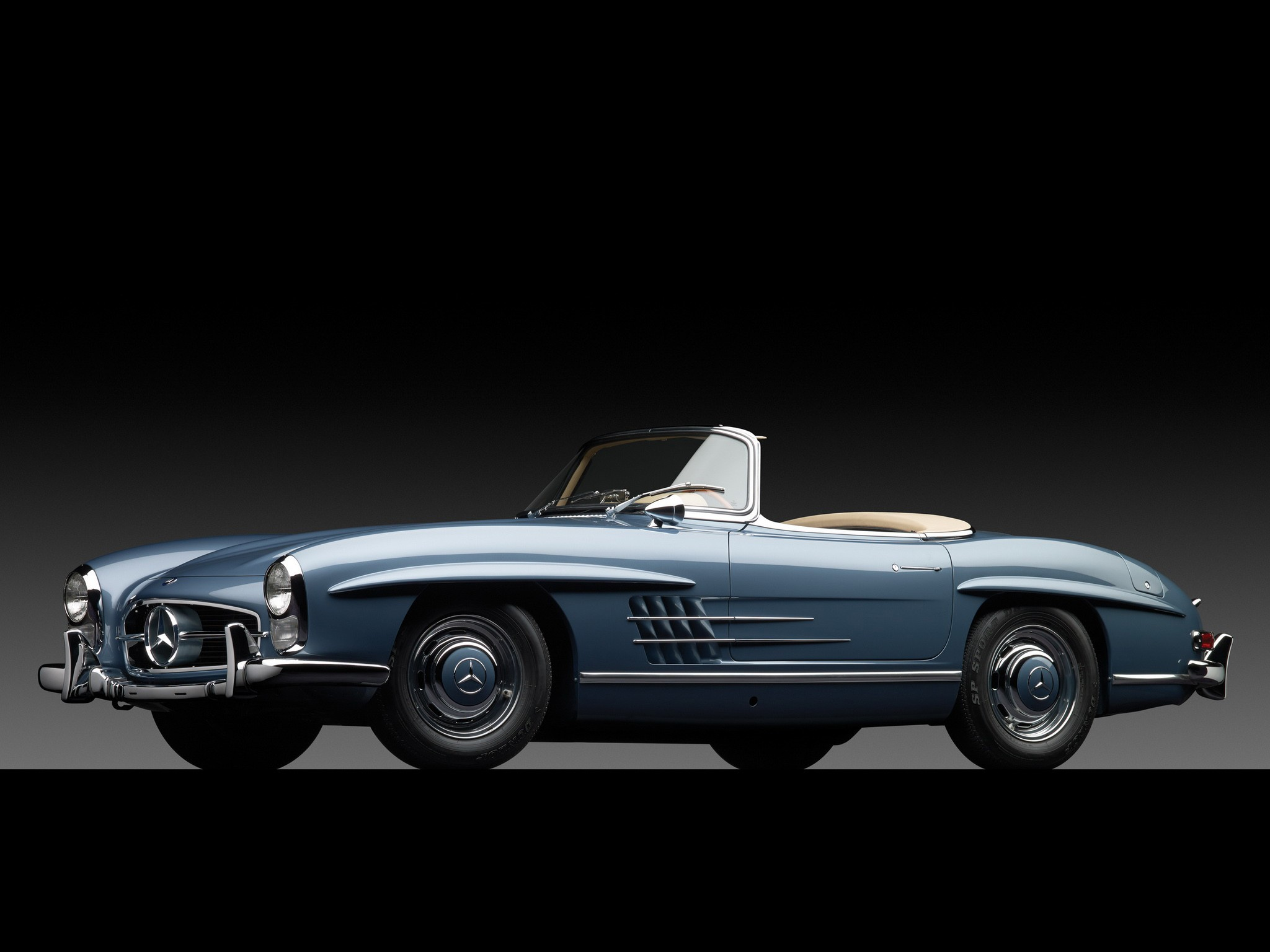 Mercedes benz 300 sl roadster w198 1957 1958 1959 for Mercedes benz sl 300