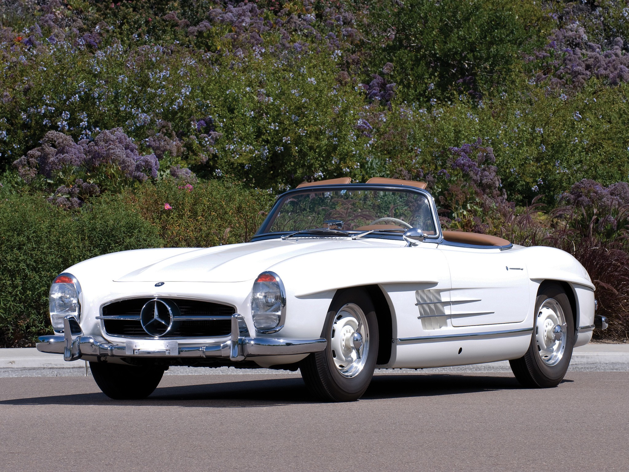 Mercedes benz 300 sl roadster w198 specs 1957 1958 for Mercedes benz 300