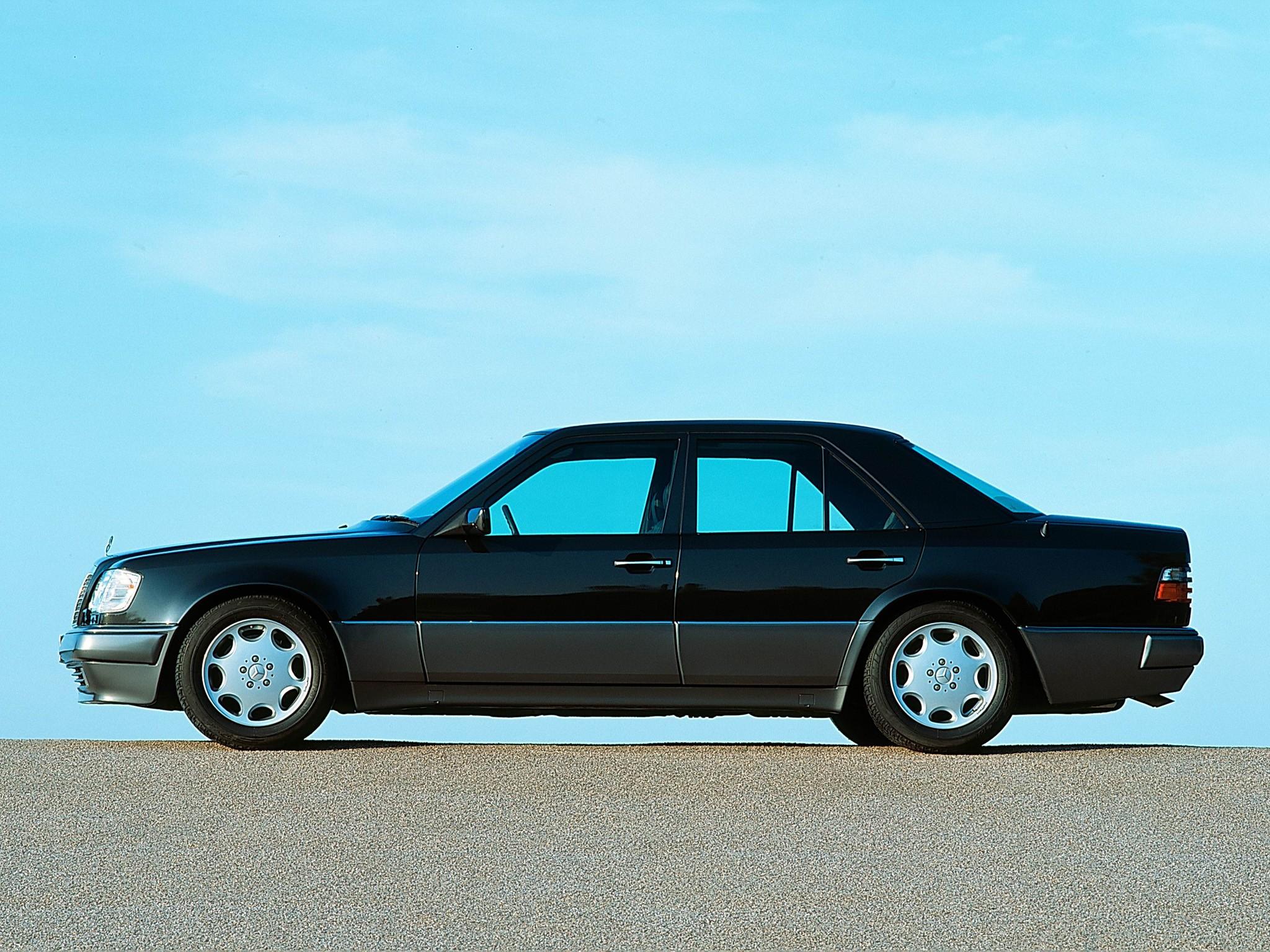 MERCEDES BENZ 500 E (W124) specs & photos - 1991, 1992 ...