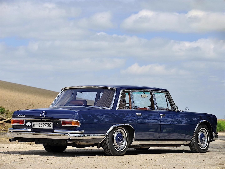 Mercedes Benz 600 W100 Specs Amp Photos 1964 1965 1966