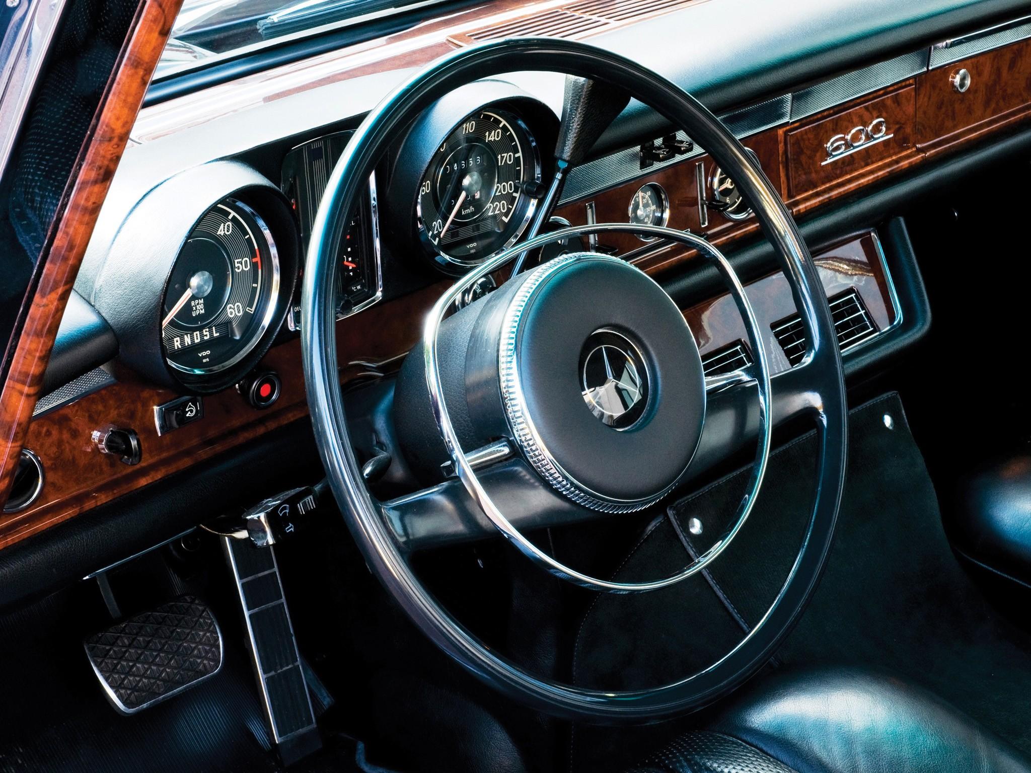 MERCEDES BENZ 600 Landaulet (W100) specs - 1965, 1966 ...