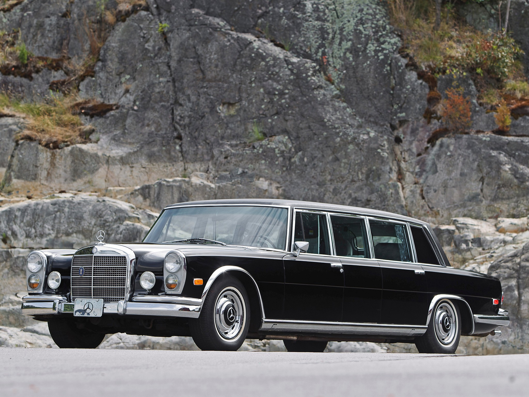 Mercedes benz 600 pullman v100 1964 1965 1966 1967 for Mercedes benz pullman