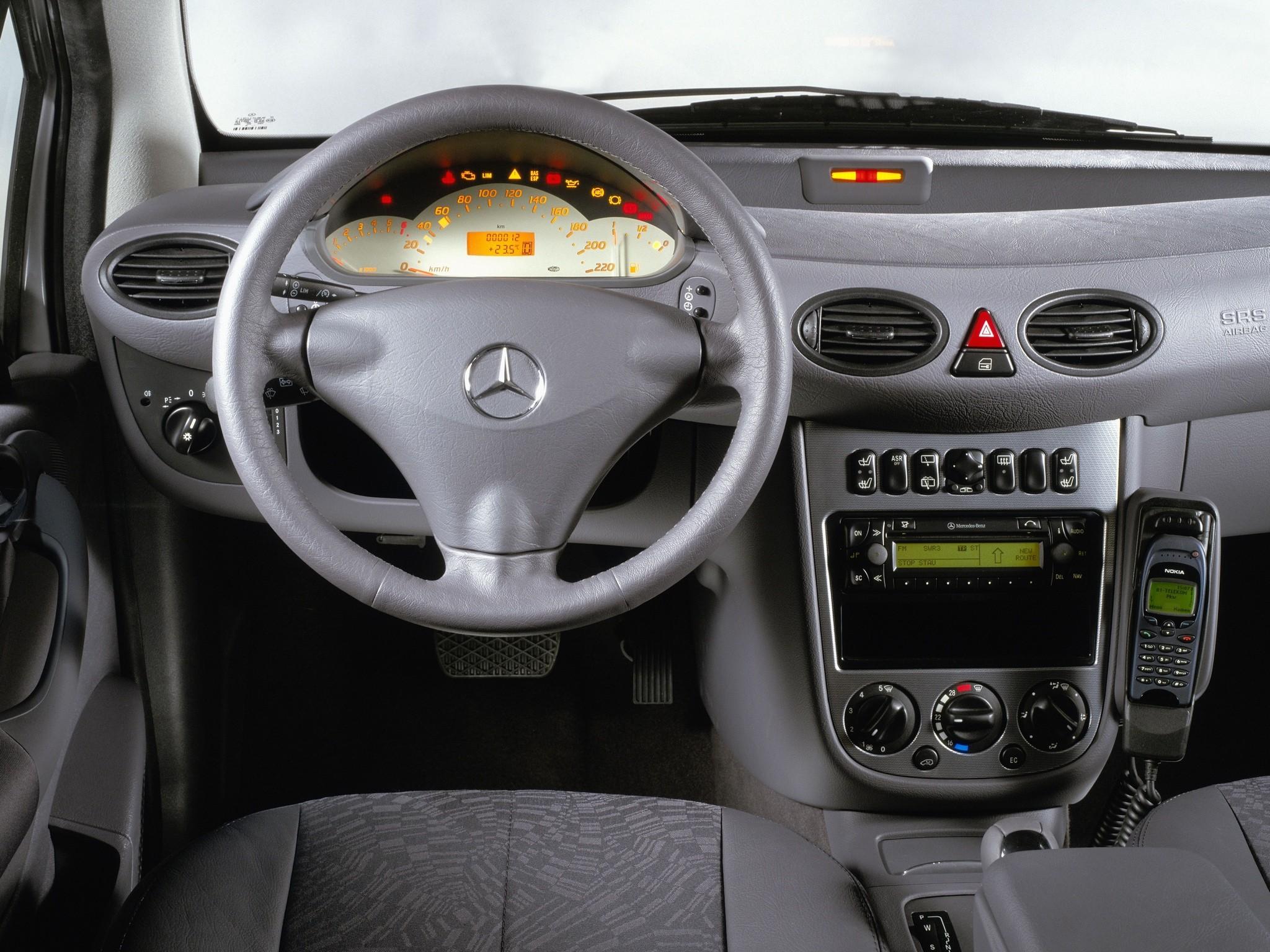 Mercedes Benz A Klasse W168 1997 1998 1999 2000