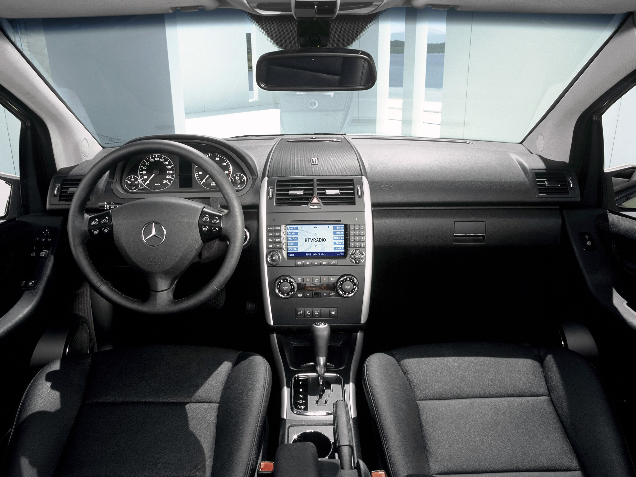 mercedes benz a class w169 facelift 2008 a 160 cdi. Black Bedroom Furniture Sets. Home Design Ideas
