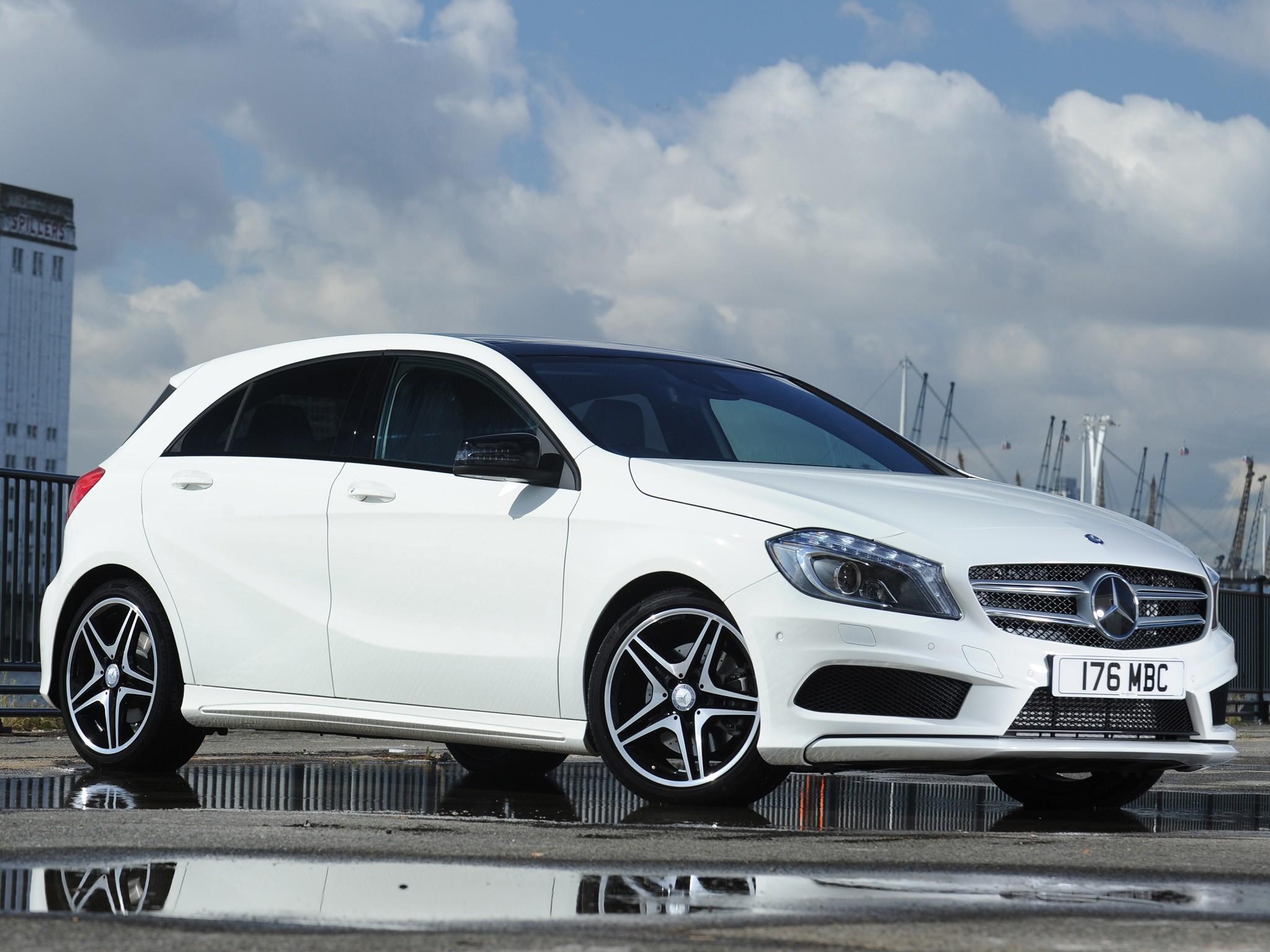 Mercedes benz a klasse w176 2012 2013 2014 2015 for Mercedes benz small cars