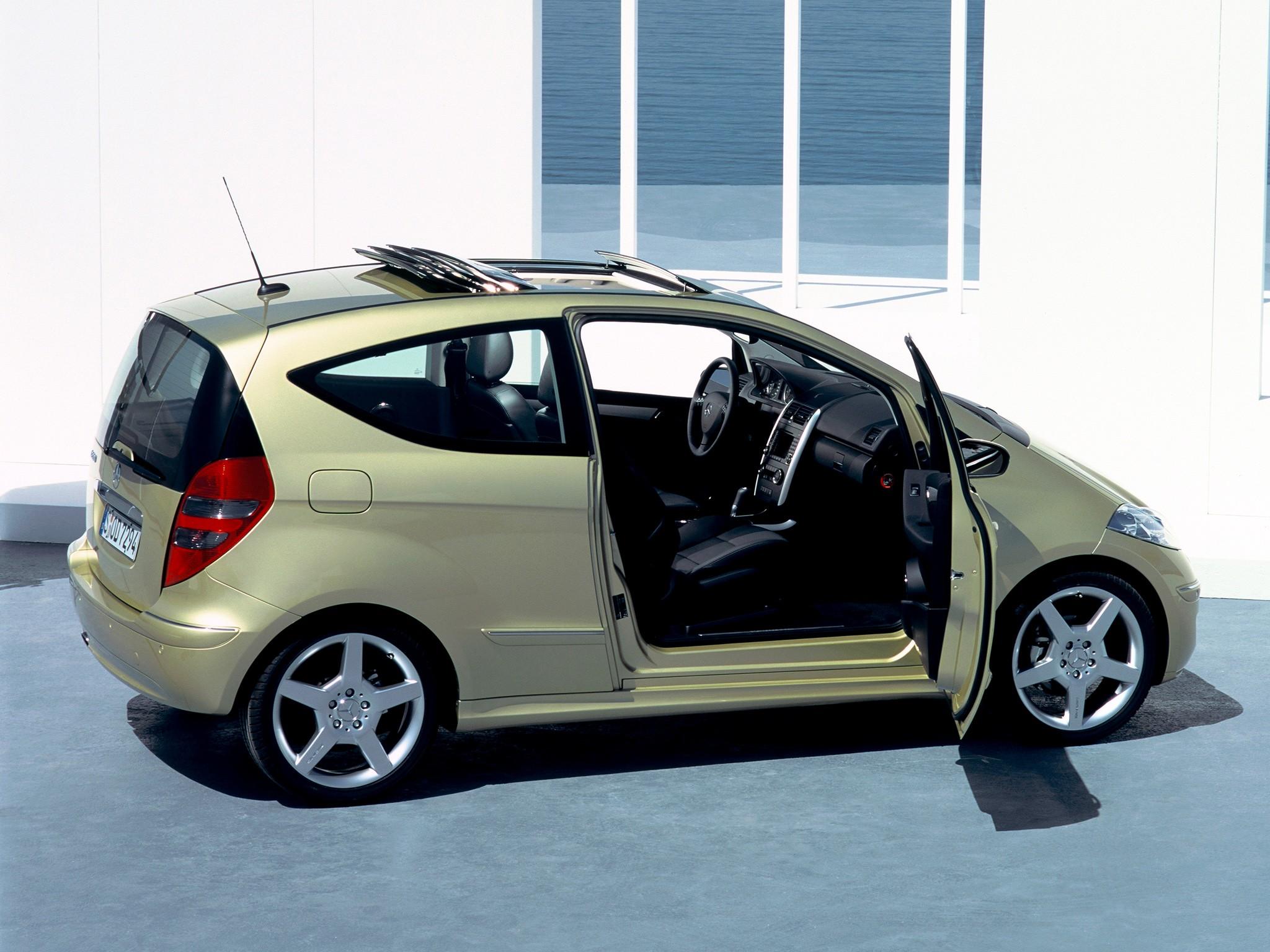 mercedes benz a klasse 3 doors w169 specs 2004 2005. Black Bedroom Furniture Sets. Home Design Ideas