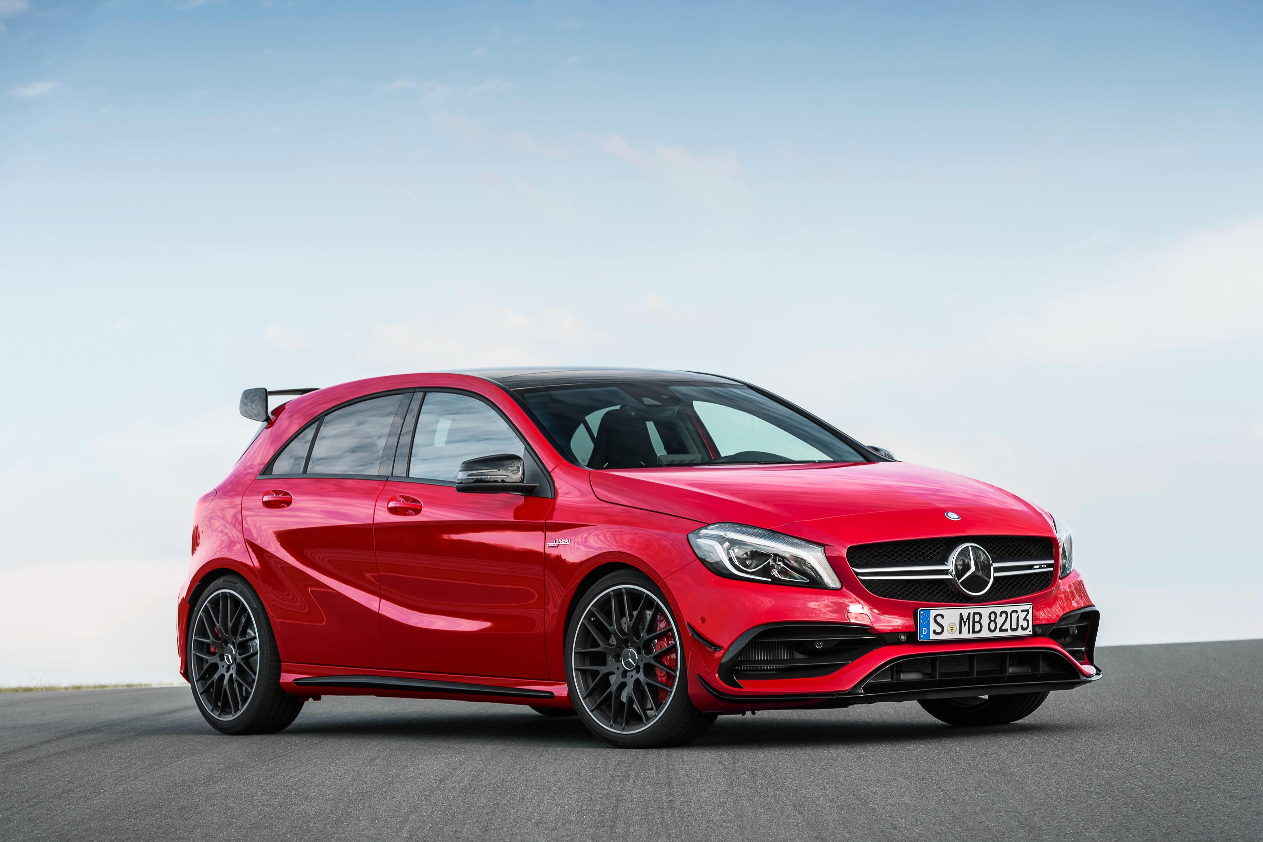 Mercedes-AMG A45 (W176) specs & photos - 2015, 2016, 2017 ...