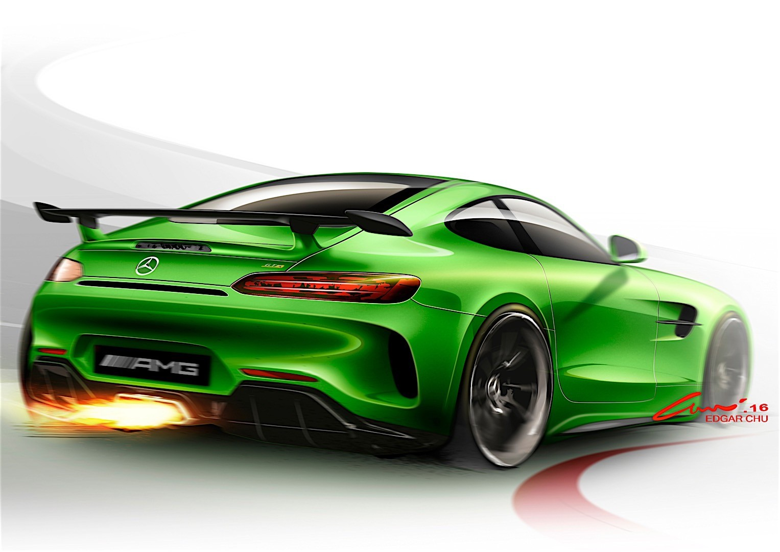 mercedes benz amg gt r 2016 autoevolution. Black Bedroom Furniture Sets. Home Design Ideas