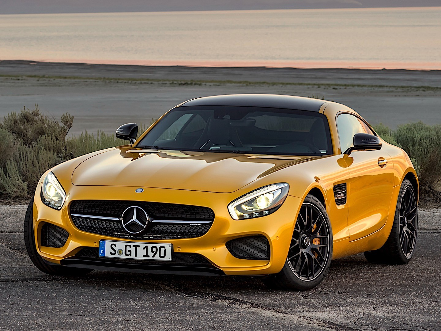 Mercedes Amg Gt S C190 2017