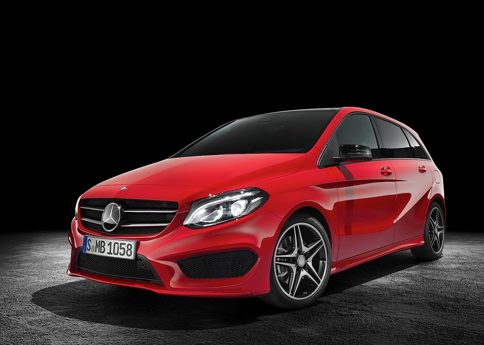 Cars that are redesigned for autos post for Mercedes benz b class specifications