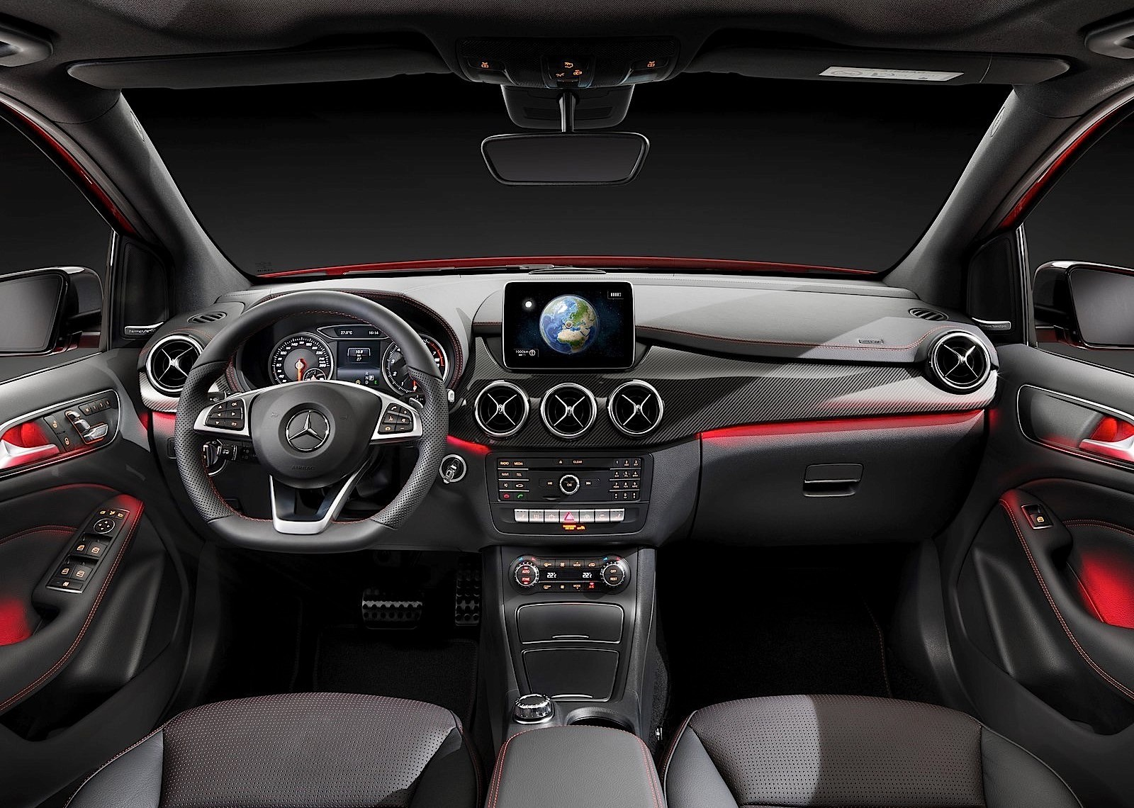 MERCEDES BENZ B Class (W246) specs & photos - 2014, 2015 ...