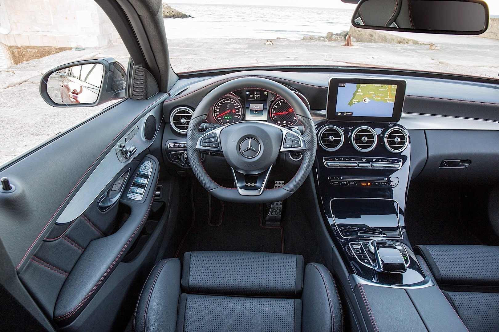 MERCEDES BENZ C 450 AMG T-Modell (S205) specs - 2014, 2015 ...