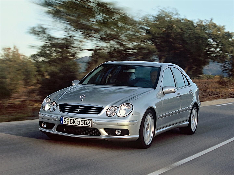 Mercedes benz c 55 amg w203 specs 2004 2005 2006 for 2004 mercedes benz