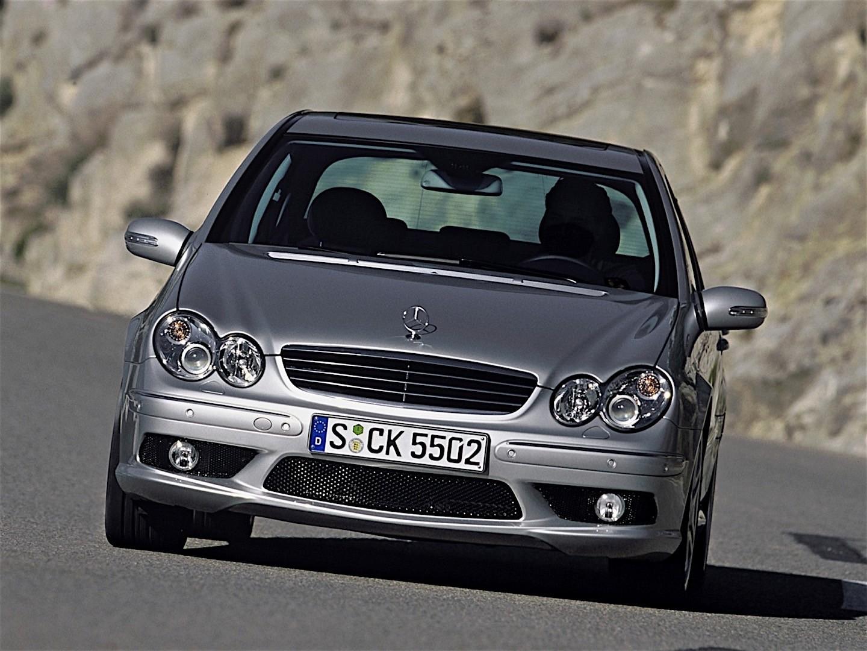 Mercedes benz c 55 amg w203 specs 2004 2005 2006 for 2006 mercedes benz c55 amg