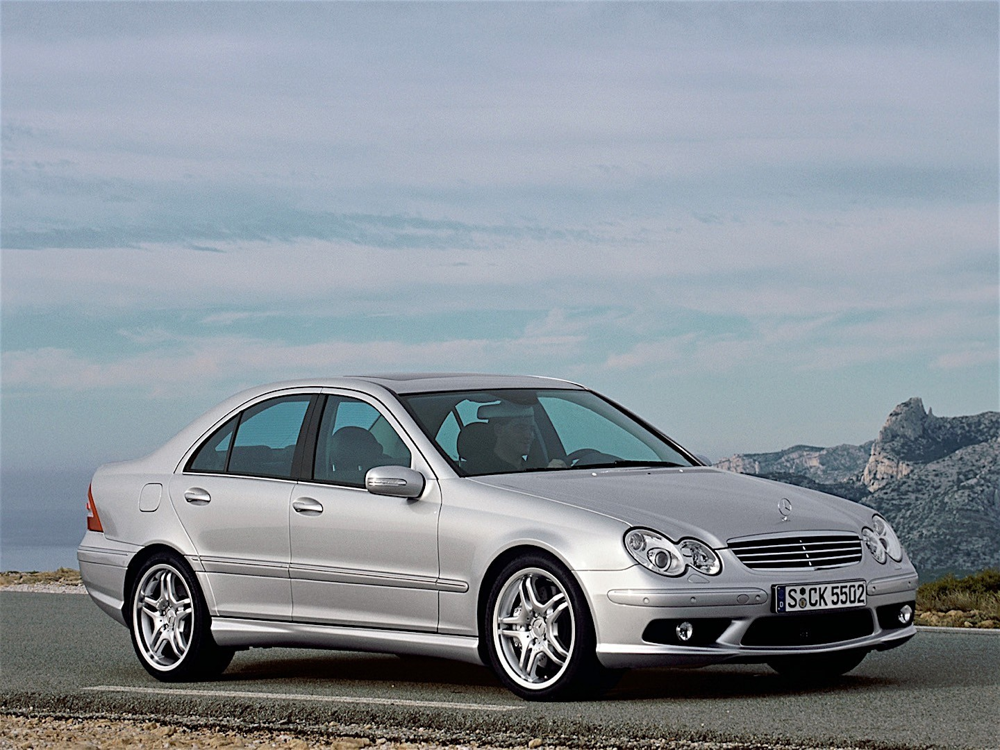 Mercedes benz c 55 amg w203 2004 2005 2006 2007 for Mercedes benz car picture gallery