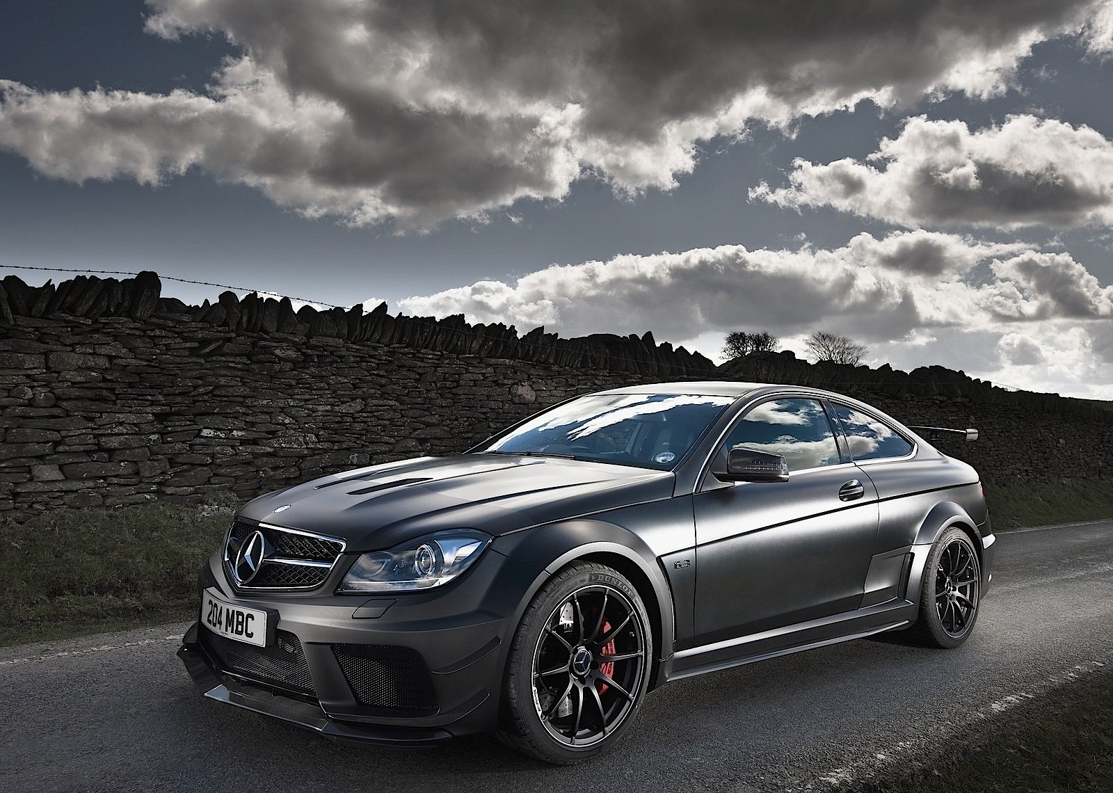 Mercedes benz c 63 amg coupe black series 2011 2012 for C series mercedes benz