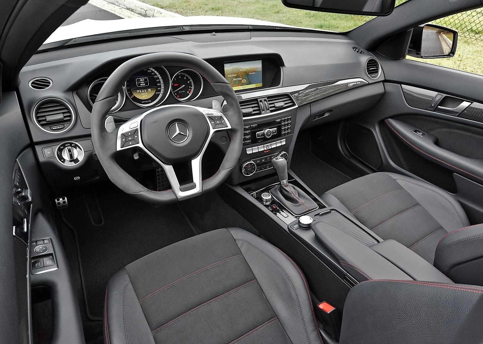 Mercedes Benz C 63 Amg Coupe Black Series 2011 2012