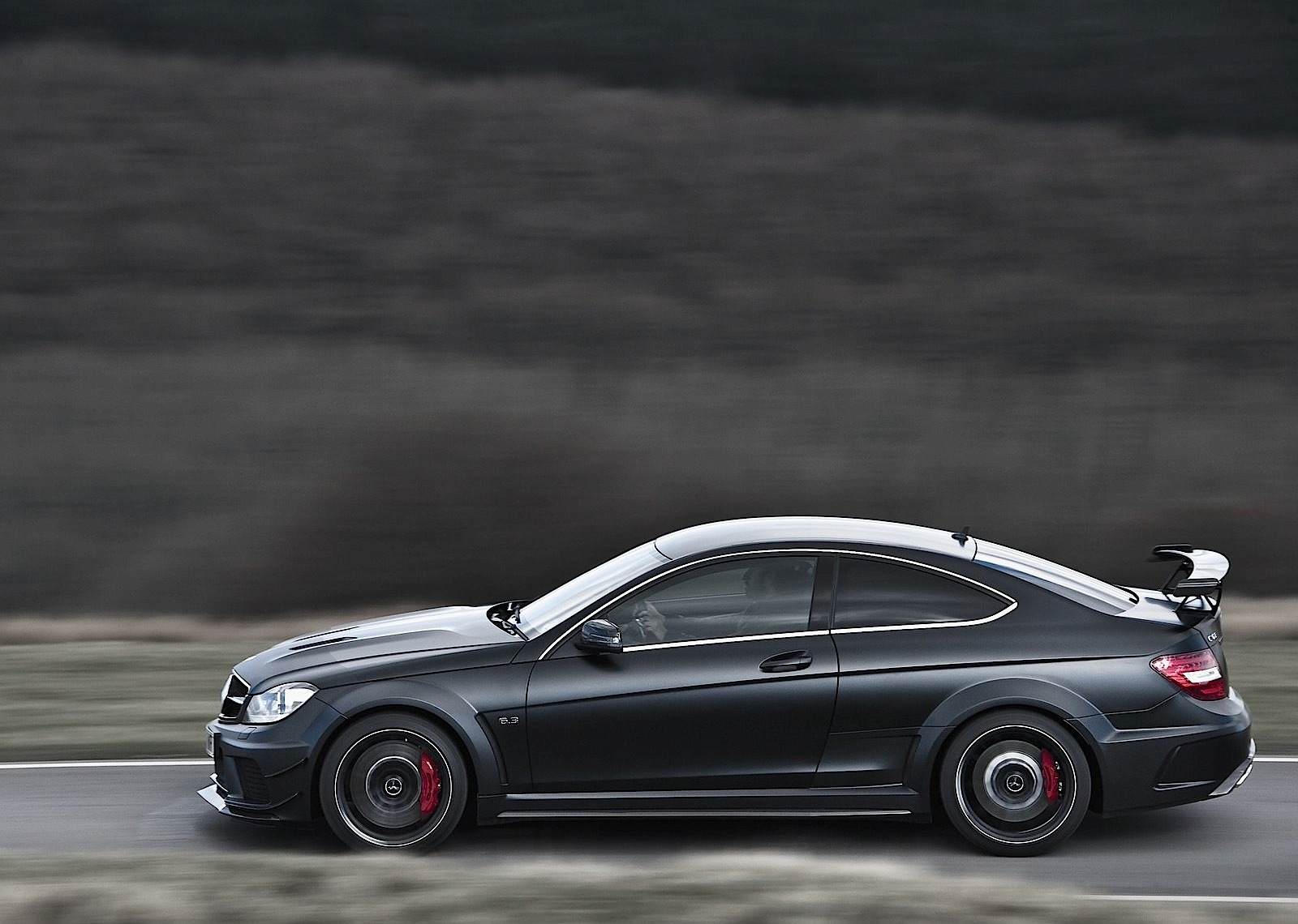 Mercedes Benz C 63 Amg Coupe Black Series 2011 2012