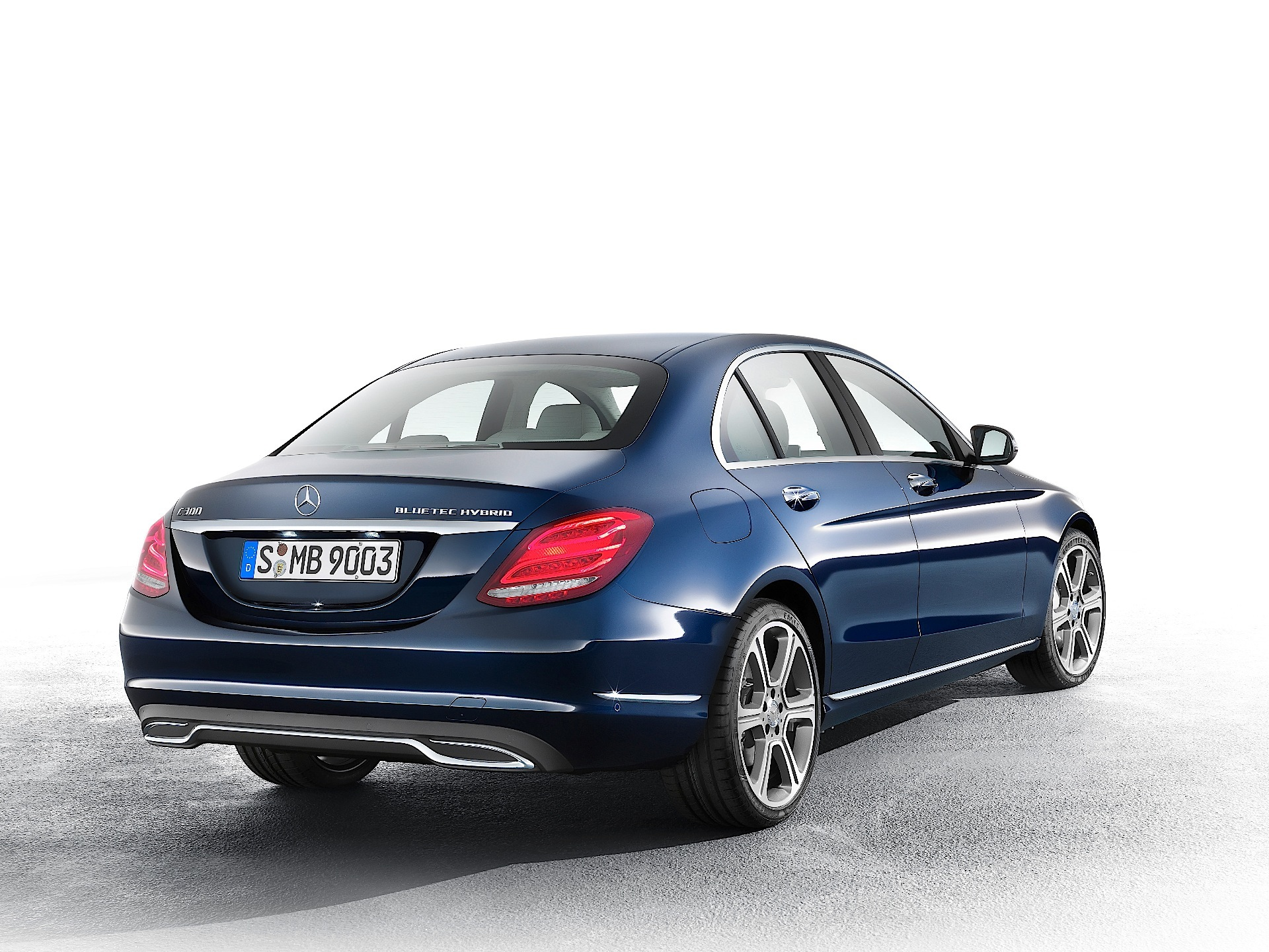 Mercedes benz c class w205 2014 2015 2016 2017 for Mercedes benz blue tec