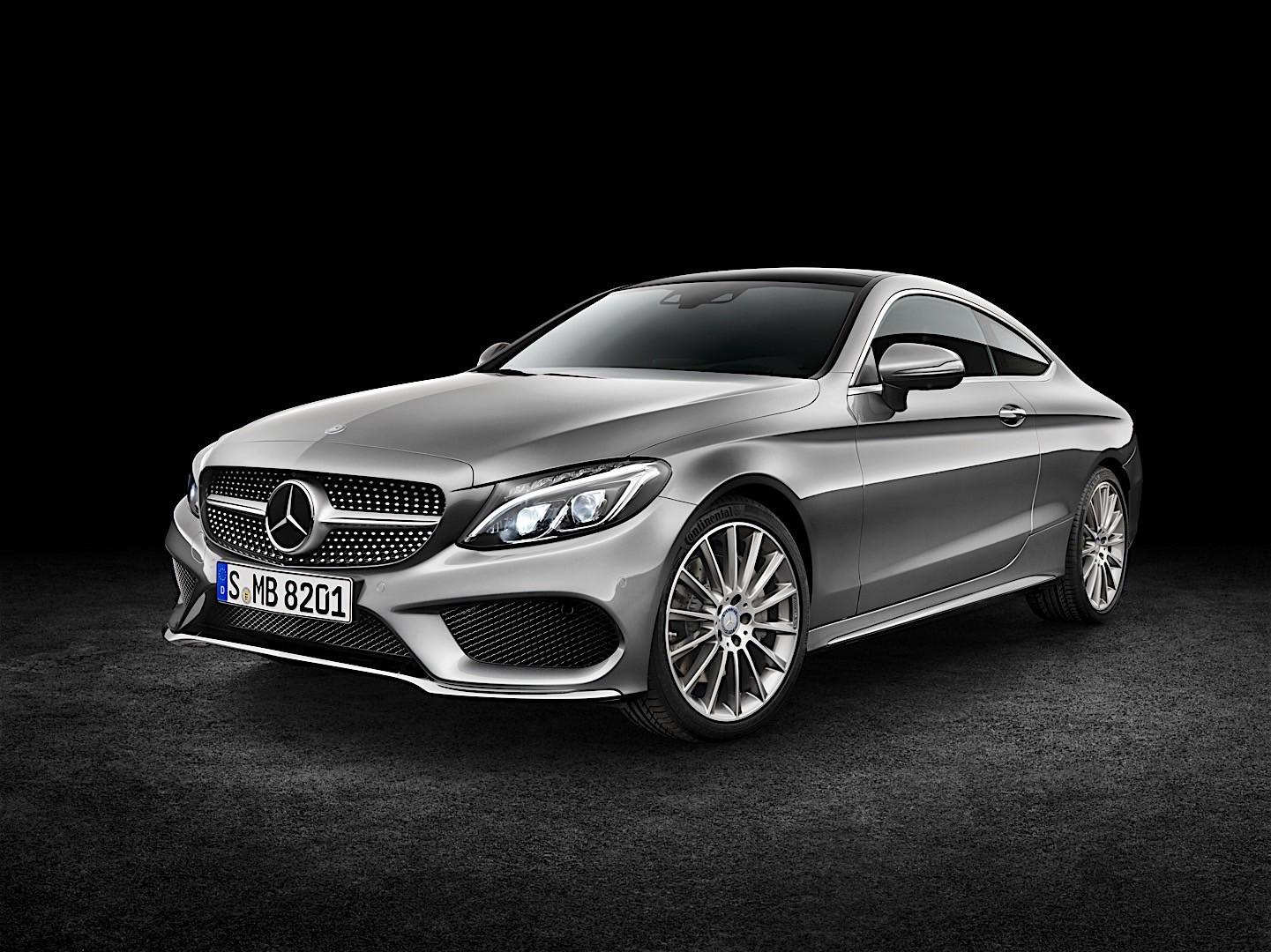 Mercedes benz c class coupe c205 2016 autoevolution for Mercedes benz c class coupe 2016