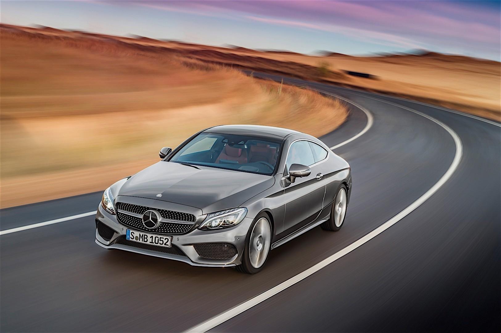 Mercedes benz c class coupe c205 specs 2016 2017 for Mercedes benz c class sedan