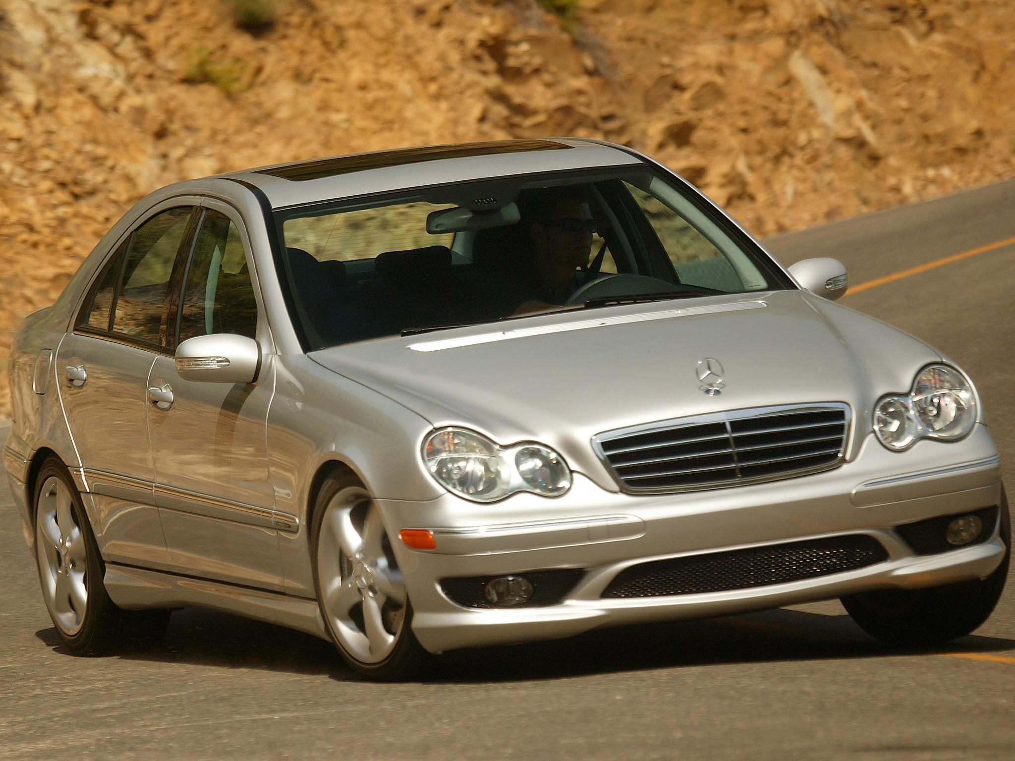 Mercedes Benz W203 Tyyppiviat