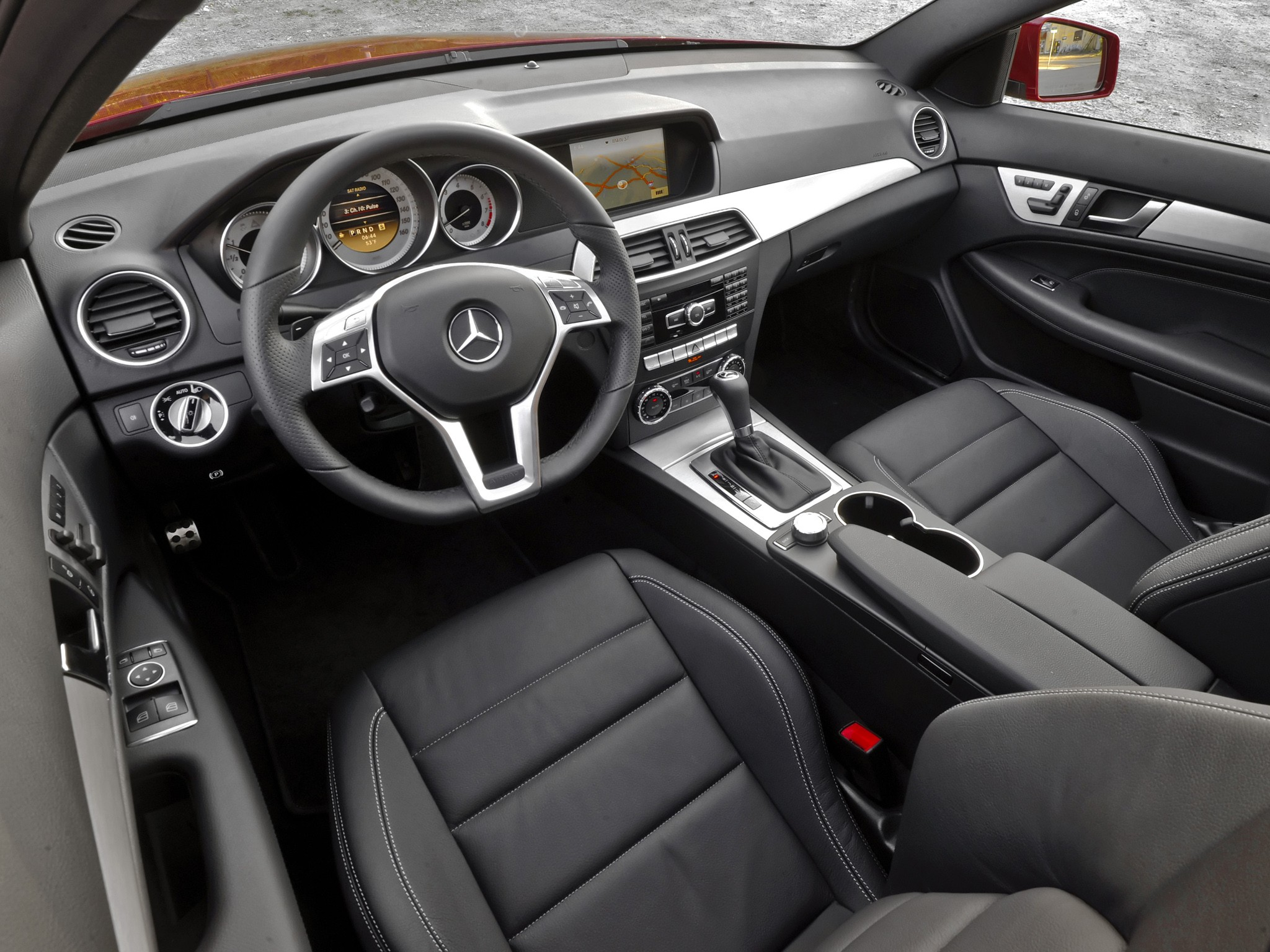 Mercedes Benz C Klasse Coupe C204 2011 2012 2013