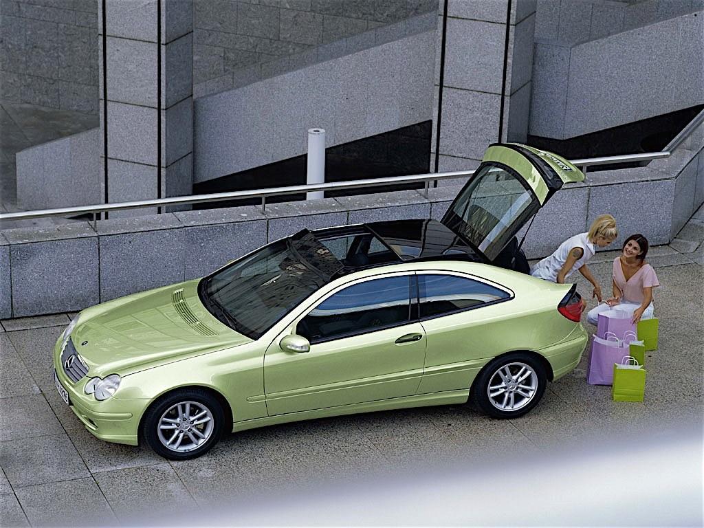 Mercedes Benz C Klasse Sportcoupe C203 Specs Amp Photos