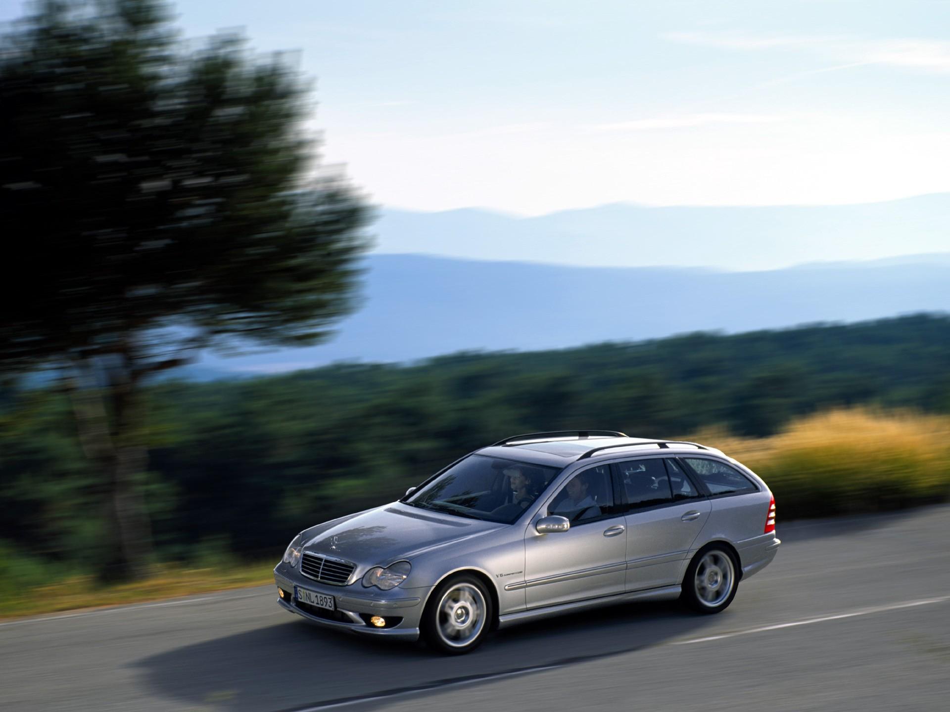 Mercedes Benz C Klasse T Modell Amg S203 Specs Photos 2001