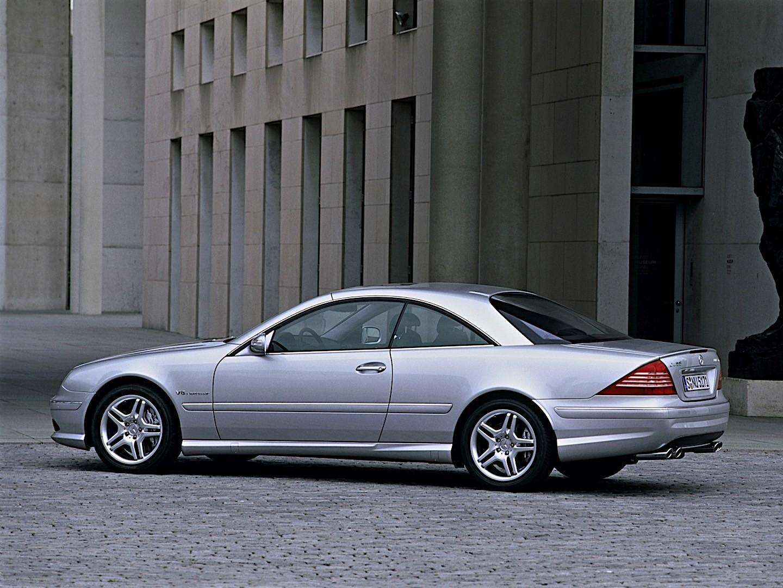 Mercedes benz cl 55 amg c215 specs 2002 2003 2004 for Mercedes benz cl 55 amg